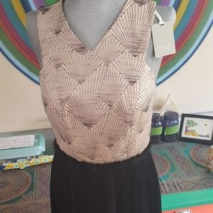 Brand new Anthropologie Art Deco dress